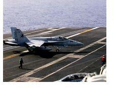 Boeing F18 Hornet VFA37 Bulls Navy Fighter Aircraft Photograph 8x10 2004