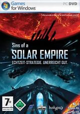 Sins Of A Solar Empire (PC, 2009, Jewelcase)
