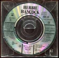 HERBIE HANCOK - MEGA MIX / HARD ROCK / METAL BEAT - 3 INCH 8 CM CD MAXI