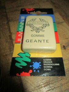 Ancienne gomme(eraser)-Toison d or,gomme géante-Neuve-Vintage 80'