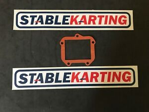 Go Kart - Rotax FR125 Reed Block Gasket - NEW STYLE - New