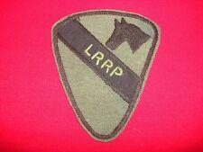 Vietnam War Hand Made Subdued Patch Long Range Recon Patrol LRRP 1st CAVALRY Div