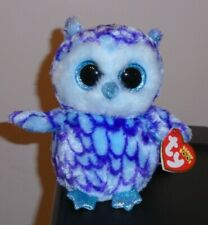 643f595c21e NM  Ty Beanie Boos ~ OSCAR the Blue Owl (6 Inch) NMWMT