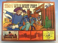 Timpo Toys 259 Wild West Fort Worth mit Figuren neuwertig OVP #970