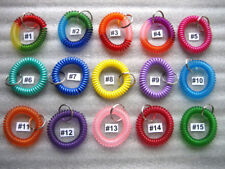 1 pc Spiral Wrist Coil Key Chain /High Quality / $2.79 Flat shipping for any AMT