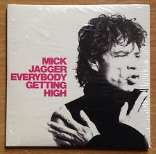 Rolling Stones Mick Jagger  Everybody Getting High  EU Sealed Promo 1 Track CD