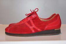 PAUL GREEN Traum Rot Leder Schnürschuhe, Gr. 39