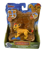 DISNEY JUNIOR THE LION GUARD KION'S TOPPLING ROCK WALL POSEABLE ACTION FIGURE