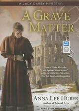Lady Darby Mystery: A Grave Matter 3 by Anna Lee Huber Book on MP3 CD Unabridged