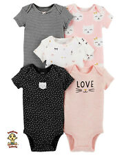 Carter's Bodysuits 5-Pack Set 3 months Authentic and Brand New
