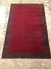 Antique Chinese Art Deco Hand Woven Carpet