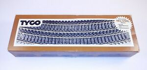 "1o Tyco 18"" R Curves Made in Austria in Original Box, uswd"