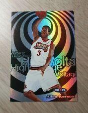 NBA 1997-98 SKYBOX HOOPS HIGH VOLTAGE ALLEN IVERSON #8