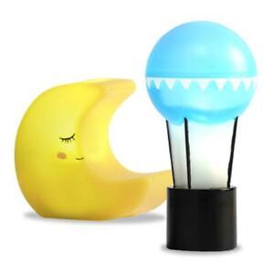 Lundby Lampe Set Moon & Balloon Modern Puppenhaus Lichter Batterie Betriebene