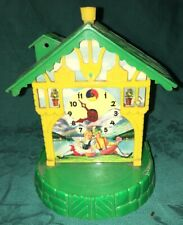 Vintage Utility Plastic Products House Novelty Clock