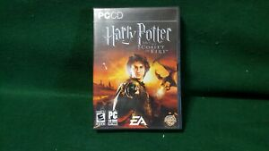 Harry Potter And The Goblet of Fire PC Game + Case + Manual - Tested - Working!
