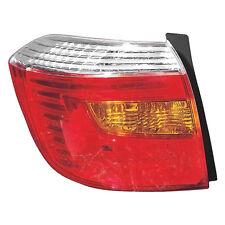 2008 - 10 TOYOTA HIGHLANDER TAIL LAMP LIGHT SPORT MDL USA BUILT LEFT DRIVER SIDE