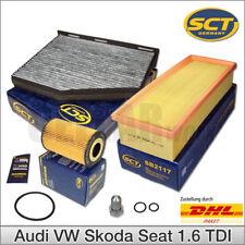 Filterset Filterkit für 1.6 TDI Audi A3 VW Golf Caddy Touran Passat Skoda & Seat