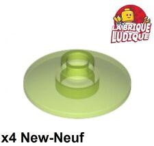 Lego 6x Dish disque radar 2x2 blanc//white 4740 NEUF