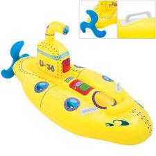 Bateau gonflable - Bouée enfant jouet Jaune - Baignade mer plage vacances jeu