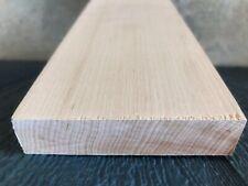 6 pc Quartersawn White Hard Maple 24 x 3.875  x 1 Craft Board Set WHITE 4 sides