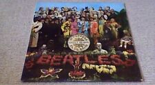 THE BEATLES SGT. PEPPER'S 4th Press Parlophone EMI Stereo UK LP 1967 PCS 7027