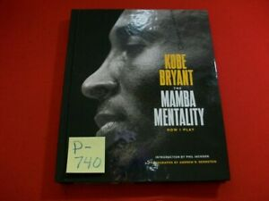COLLECTIBLE KOBE BRYANT-THE MAMBA MENTALITY HOW I PLAY-H/C BOOK 208 PGS 2018 EC