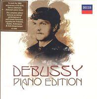 Claude Debussy PIano Edition box CD NEW 6-disc