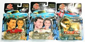Lot of 3 NASCAR Racing Champions 5 Decades of Petty 1953 1954 1980