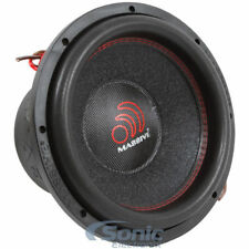 "(2) MASSIVE AUDIO SUMMOXL 104 10"" inch 6000 Watt Dual 4 ohm Car Subwoofers Subs"