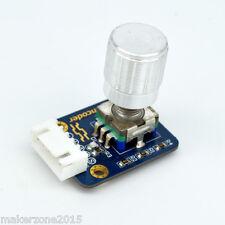 Adeept New Rotary Encoder Module 360 Degree Rotation for Arduino Raspberry Pi
