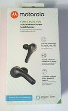 Motorola Verve Buds 500 True Wireless Bluetooth Headphones Ear Pods - Black