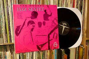 THE MODERN JAZZ SEXTET Verve LP (dizzy gillespie/monosonny stitt)