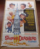 Sargeant DeadHead the Astronut! MoviePoster, Original, Folded, One Sheet, 1965