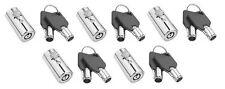 Vending Machine Locks With Key Covers-5, keyed alike key code #1452 -Ships Free