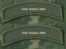 KILLER ELITE PROFESSIONAL WARRIORS YOUR WORDS: Custom-Embroidered Tab X 2  BC