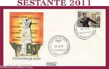 ITALIA FDC ROMA SALVO D'ACQUISTO 1975 ANNULLO VELLETRI G620