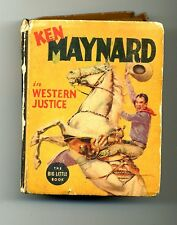Ken Maynard in Western Justice   1938   Big Little Book