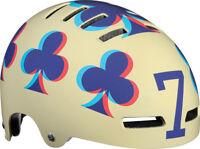 "Lazer Street Lucky 7, Fahrradhelm, Skatehelm, BMX Helm Größe ""S"" 52-54cm Creme"