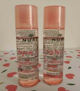 2 x NUXE VERY ROSE 3-in-1 Soothing Micellar Water Face and Eyes 2 x 40ml (80ml)