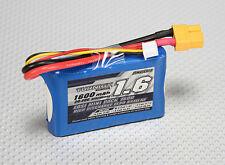 Turnigy 1600mAh 2S 20C 30C Lipo Battery Losi Mini SCT Pack XT60 XT-60 LOSB1212