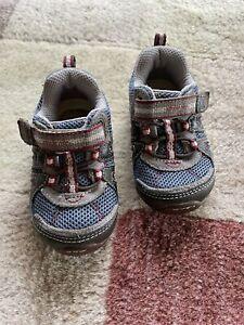 Stride Rite Palmer Toddler Boys Blue Sporty Sneakers Size 4.5W