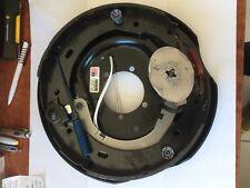 "12"" Backing plate Dexter USA for electric brakes Trailer Caravan Left hand Side"