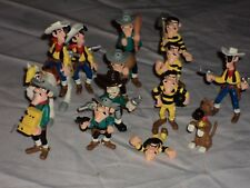 LUCKY LUKE AND BAND LOT COMPLET DE 14 FIGURINES NEUVES