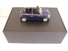 Modellauto  MINI Cooper Cabrio  R52 blau M 1:43
