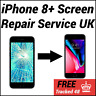 iPhone 8 Plus - Cracked Screen Glass Replacement LCD - Same Day Repair Service
