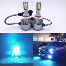 9005 HB3 CREE LED Headlight Bulbs Kit High Low Beam 8000K Ice Blue 55W 8000LM