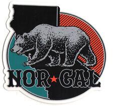 Nor Cal - North Region Skateboard Sticker - skate sk8 skateboarding new sk8