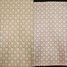 Taupe & Blush Floral Texture 100% Polyester Fabric by the Yard