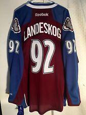 Reebok Premier NHL Jersey Colorado Avalanche Gabriel Landeskog Burgundy sz XL